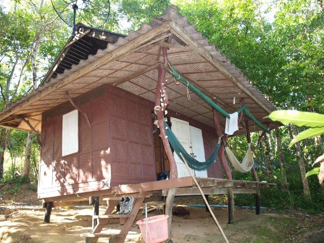 La hutte et son hamac